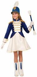 Фото Костюм Мажоретка в синем платье детский