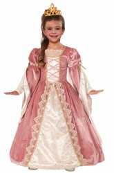 Фото Костюм Принцесса Викторианская Роза детский