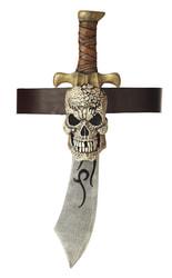 Фото Пиратская сабля с черепом