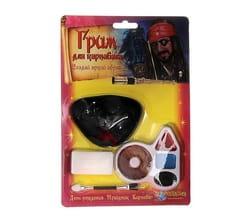 Фото Грим Пират с наглазником, четыре цвета