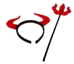 Фото Набор дьявола с трезубцем