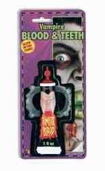 Фото Кровь и клыки набор для грима