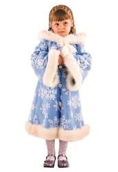 Фото Костюм Зимушка Снегурочка детский