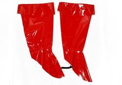 Сапоги карнавальные красные детские
