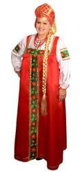 Фото Костюм русский народный Марфа взрослый