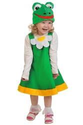 Фото Костюм Лягушка зеленая плюш детский