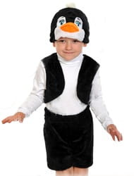 Фото Костюм Пингвинчик с жилетом детский