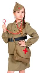 Фото Костюм Медсестра военная детский