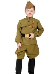 Фото Костюм солдата ВОВ для мальчика