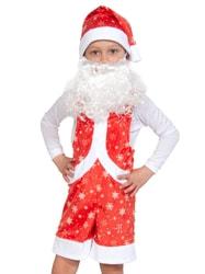 Фото Костюм Мистер Санта плюш детский