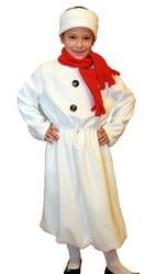 Фото Костюм Снеговик в шарфе детский
