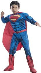 Фото Костюм Супермена с мышцами детский