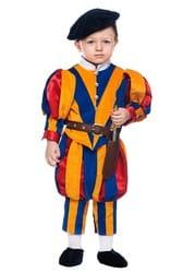 Фото Костюм маленький Швейцарский гвардеец детский