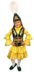 Фото Костюм казахский для девочки детский