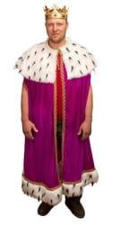 Фото Костюм король в мантии взрослый
