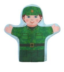 Фото Кукла-рукавичка Военный