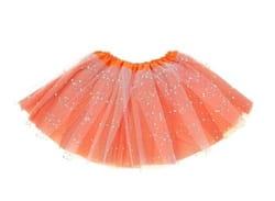 Фото Юбка Модница оранжевая детская
