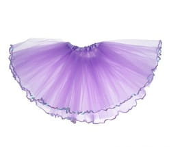 Фото Юбка фиолетовая детская