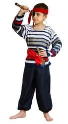 Фото Костюм морской разбойник детский