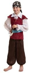 Фото Костюм пират в бандане детский