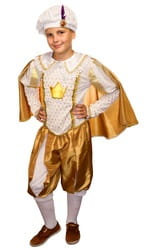 Фото Костюм Принц золотой детский