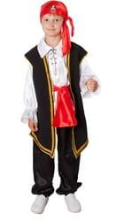 Фото Костюм отважный пират детский
