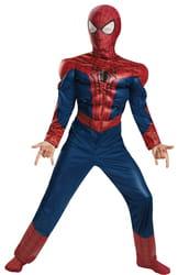 Фото Костюм Человек-паук мускулистый детский