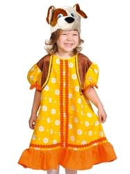 Фото Костюм Собачка Жучка в платье детский