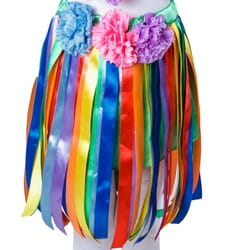 Фото Карнавальная юбка гавайская детская