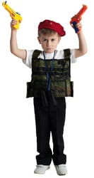 Фото Костюм Боец спецназа детский