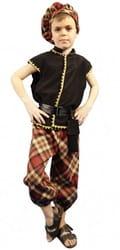Фото Костюм Шотландец коричневый детский