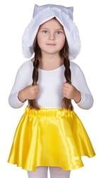 Фото Карнавальный чепец с кружевом детский