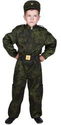 Фото Детский костюм военного солдата