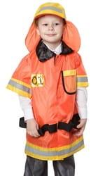 Фото Костюм Пожарный в куртке детский