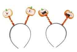 Фото Ободок Тыква, разные мордашки