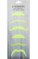 Фото Усы светоотражающие, набор 6 видов