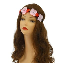 Фото Повязка на голову цветы с васильками