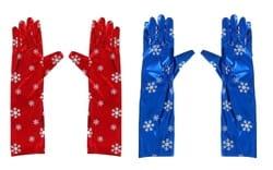 Перчатки Снежинка