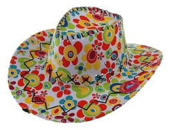 Шляпа Ковбой яркая