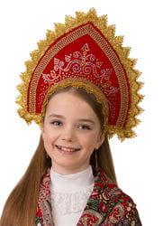 Фото Кокошник Забавушка детский