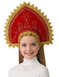 Фото Кокошник Боярушка детский
