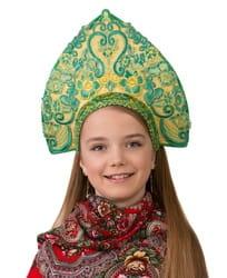 Фото Кокошник Царский детский