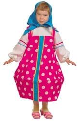 Фото Костюм Матрешка малиновая текстиль детский