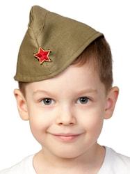 Фото Пилотка Армейская детская