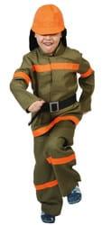 Фото Костюм Пожарный текстиль детский