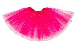 Фото Юбка Звездочка трехслойная розовая детская