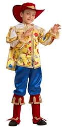 Фото Костюм Кот в сапогах сказочный детский