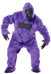 Фото Костюм горилла фиолетовый взрослый