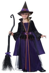 Фото Костюм ведьма-крошка детский