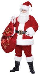 Фото Костюм добрый Санта Клаус взрослый